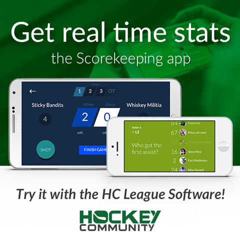 Hockey Community league software